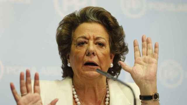 La ex alcaldesa de Valencia Rita Barberá.