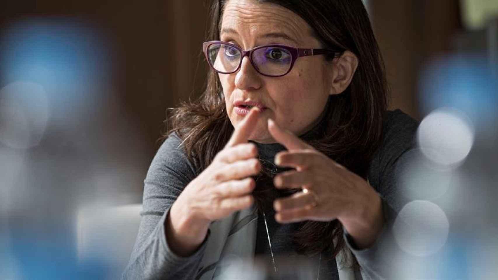 Mónica Oltra, la vicepresidenta del Gobierno valenciano.