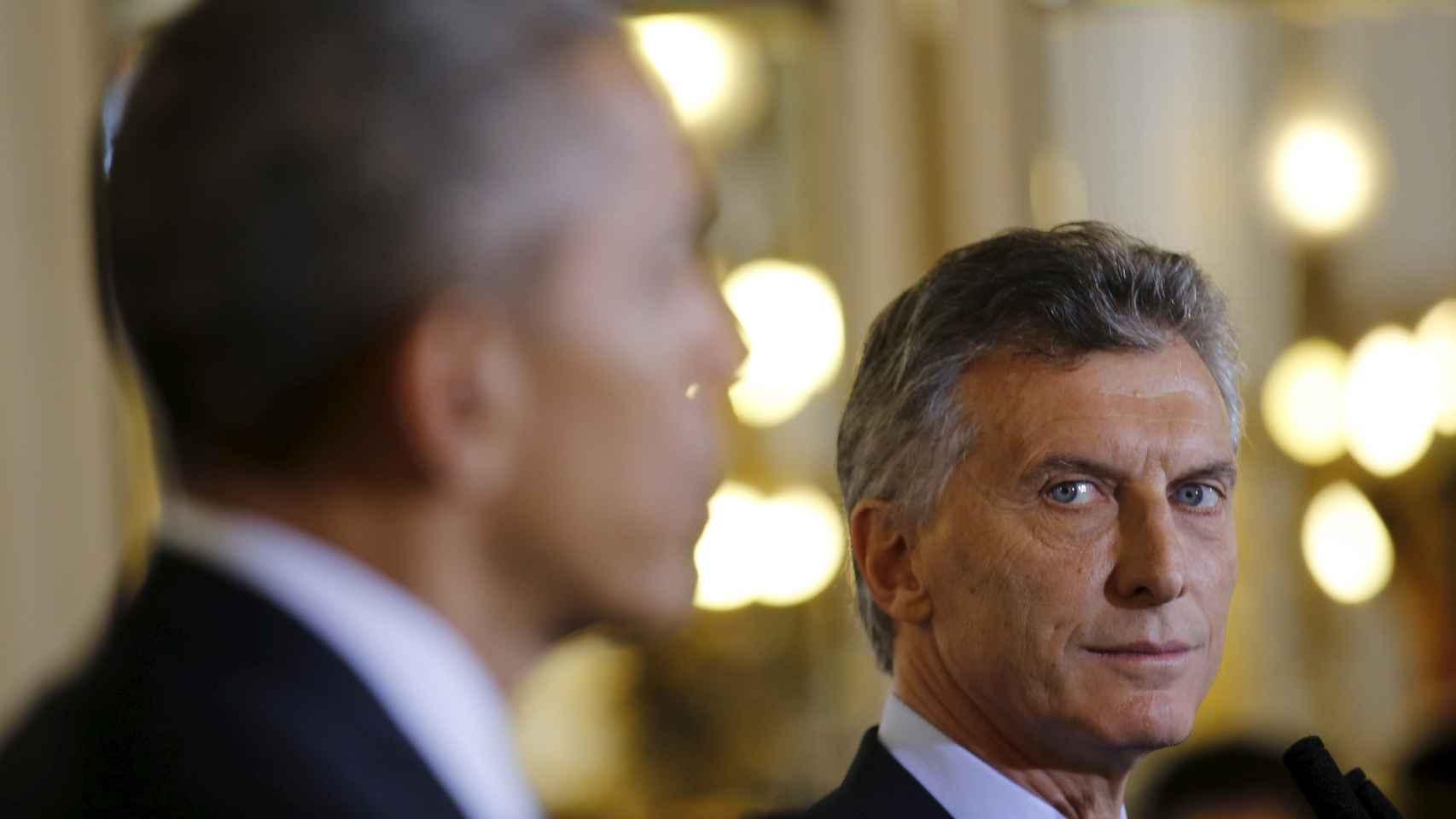 Obama ha comparecido con Macri en Buenos Aires.