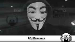 Captura del vídeo publicado por Anonymous.