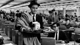 Jack Lemmon, en El apartamento (1962), de Billy Wilder.