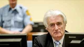 Radovan Karadzic, excomandante serbobosnio.