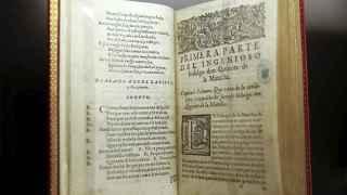 Una edición de El Quijote de 1605