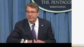 El secretario de Defensa de EEUU, Ash Carter.