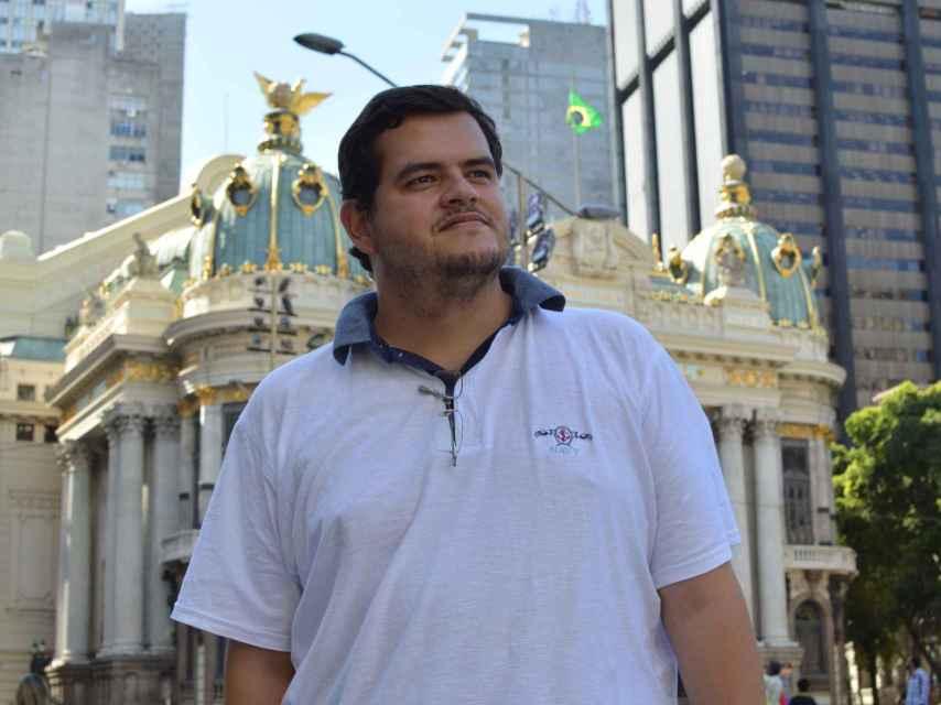 Bernardo Santoro, coordinador del MBL.