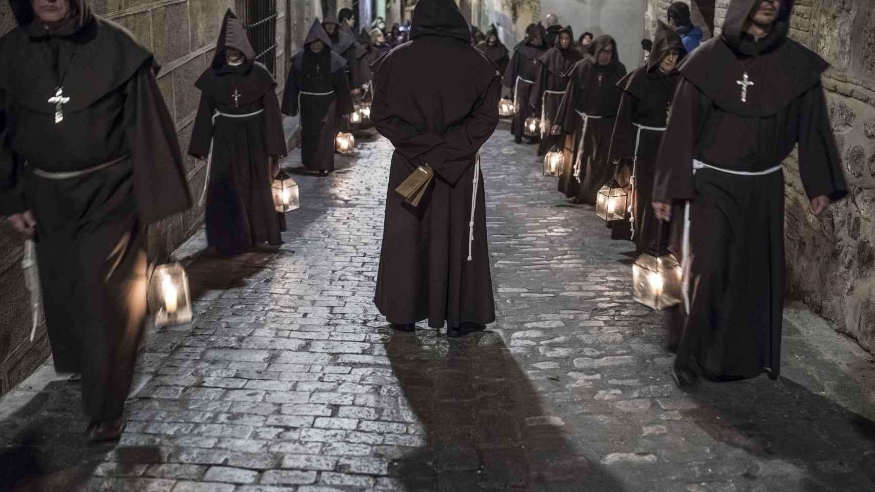 Procesión de Viernes Santo en Toledo.