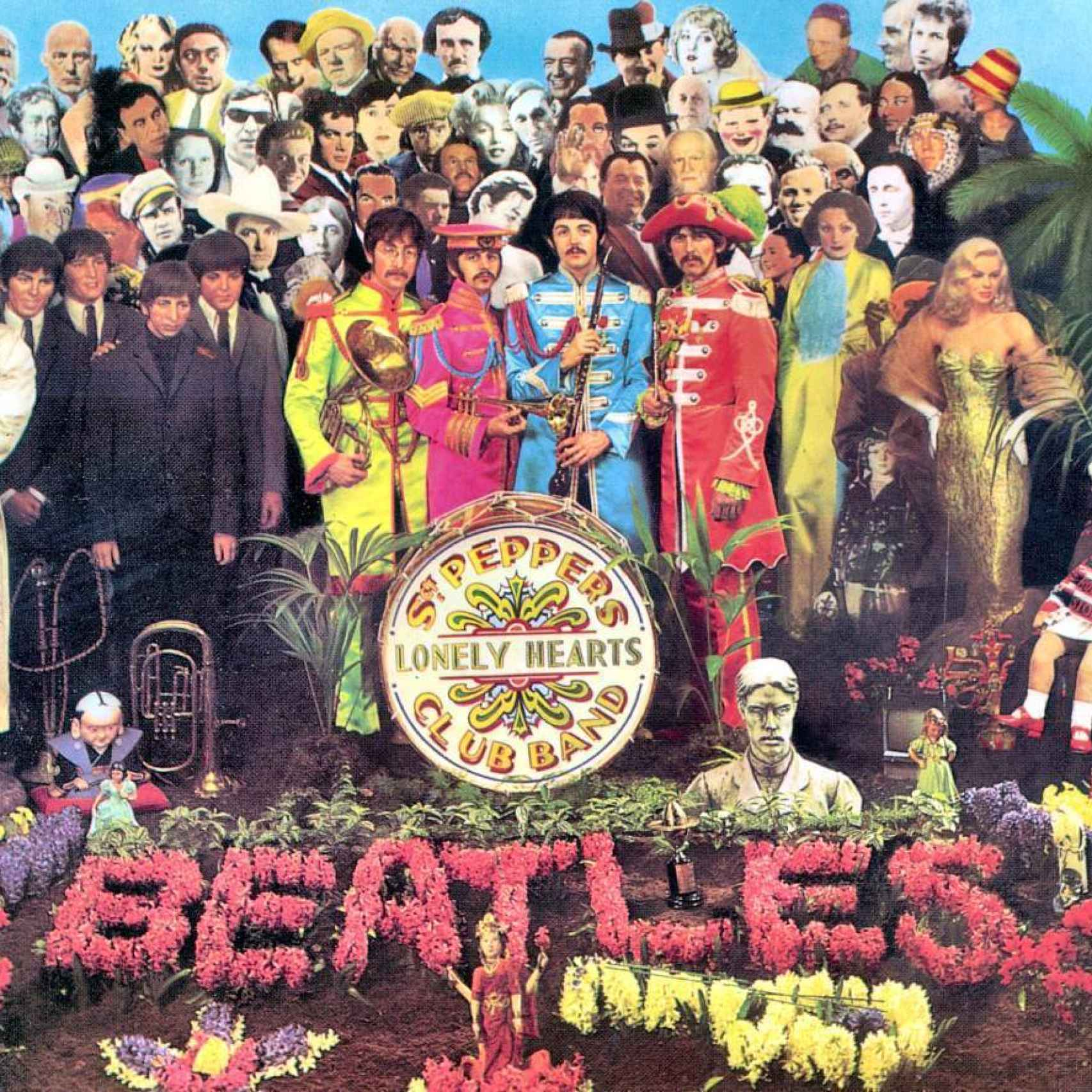 Portada del disco Sgt. Peppers
