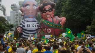 Así vive un Brasil partido en dos el ocaso de Lula