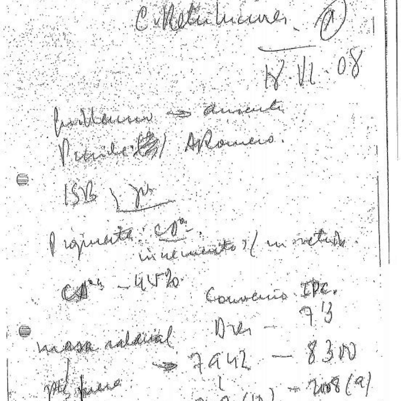 Acta de la sesión de la Comisión de Retribuciones del 18 de junio de 2008