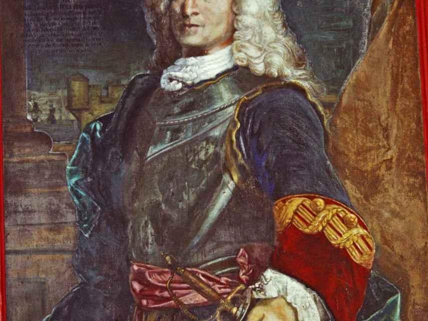 Retrato de Don Blas de Lezo.