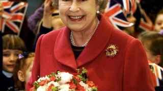 La reina Isabel II en un acto de estado.