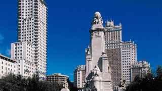 Carmena reformará la Plaza de España sin tocar a Cervantes