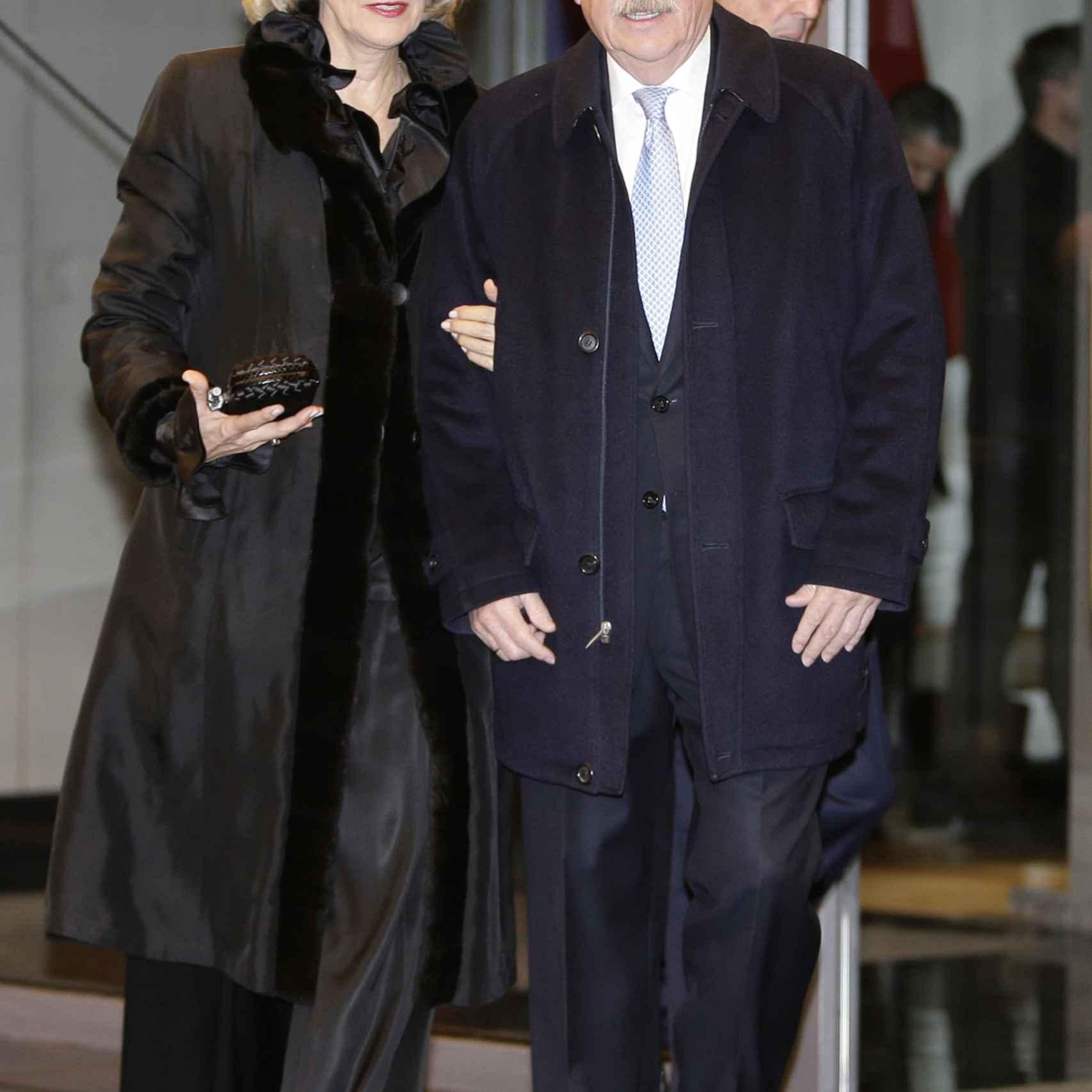 Andrés Pastrana, ex presidente de Colombia junto a su mujer Nohra Puyana
