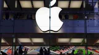 Una de las icónicas tiendas de Apple.