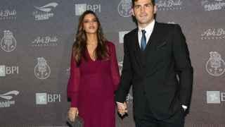 La pareja en un evento deportivo en Oporto