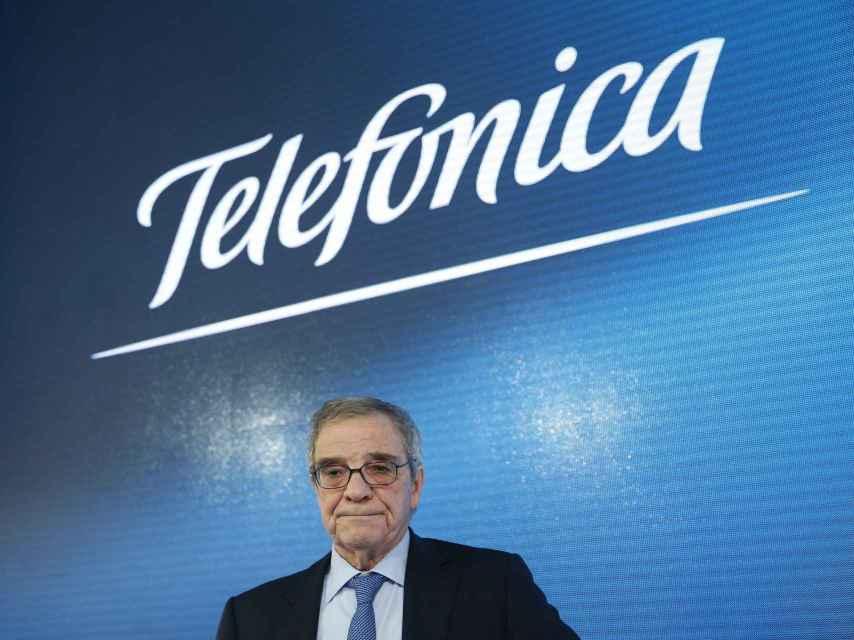 El hasta ahora presidente de Telefónica, César Alierta.