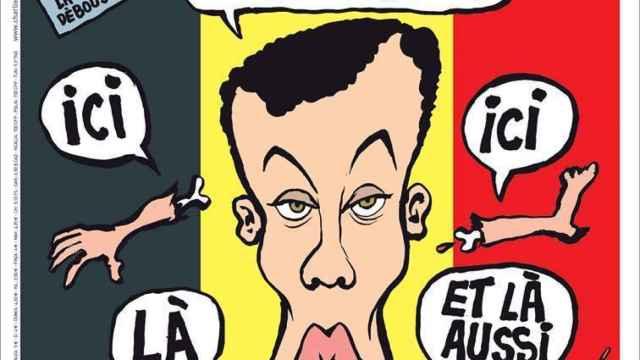 La imagen de la última portada de 'Charlie Hebdo'