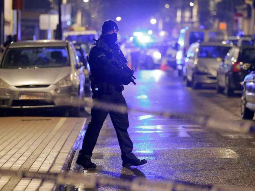 Redada nocturna tras los atentados del 22-M en Bruselas