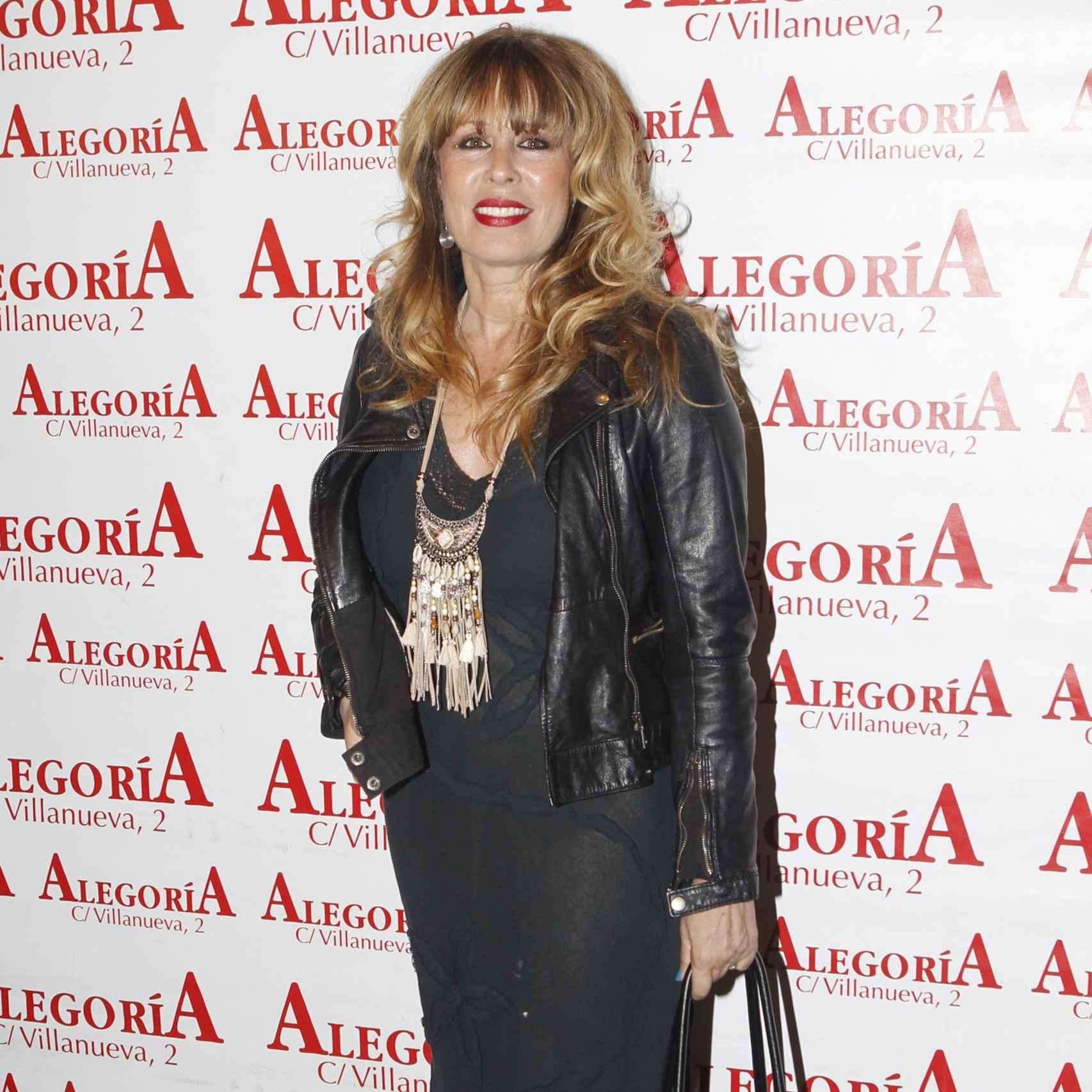 La actriz Mirian Díaz Aroca