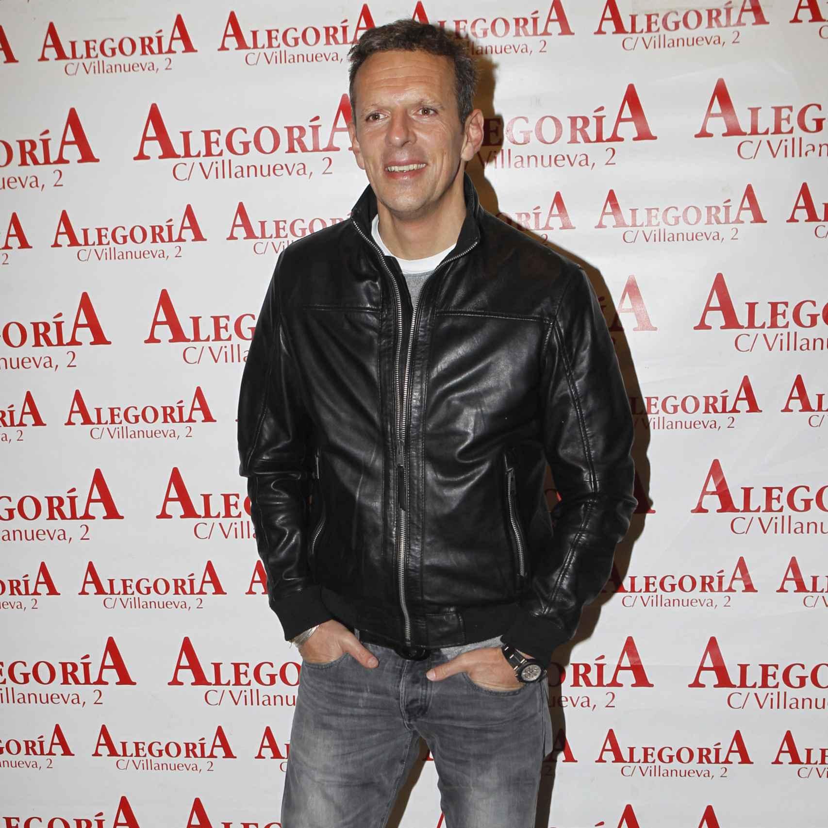 El presentador Joaquín Prat