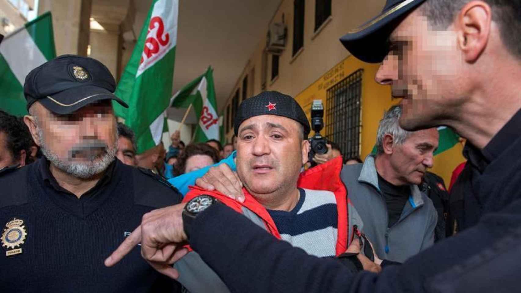 El edil de Jaén en Común Andrés Bódalo, detenido este miércoles.