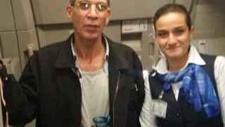 azafata con secuestrador egypt air