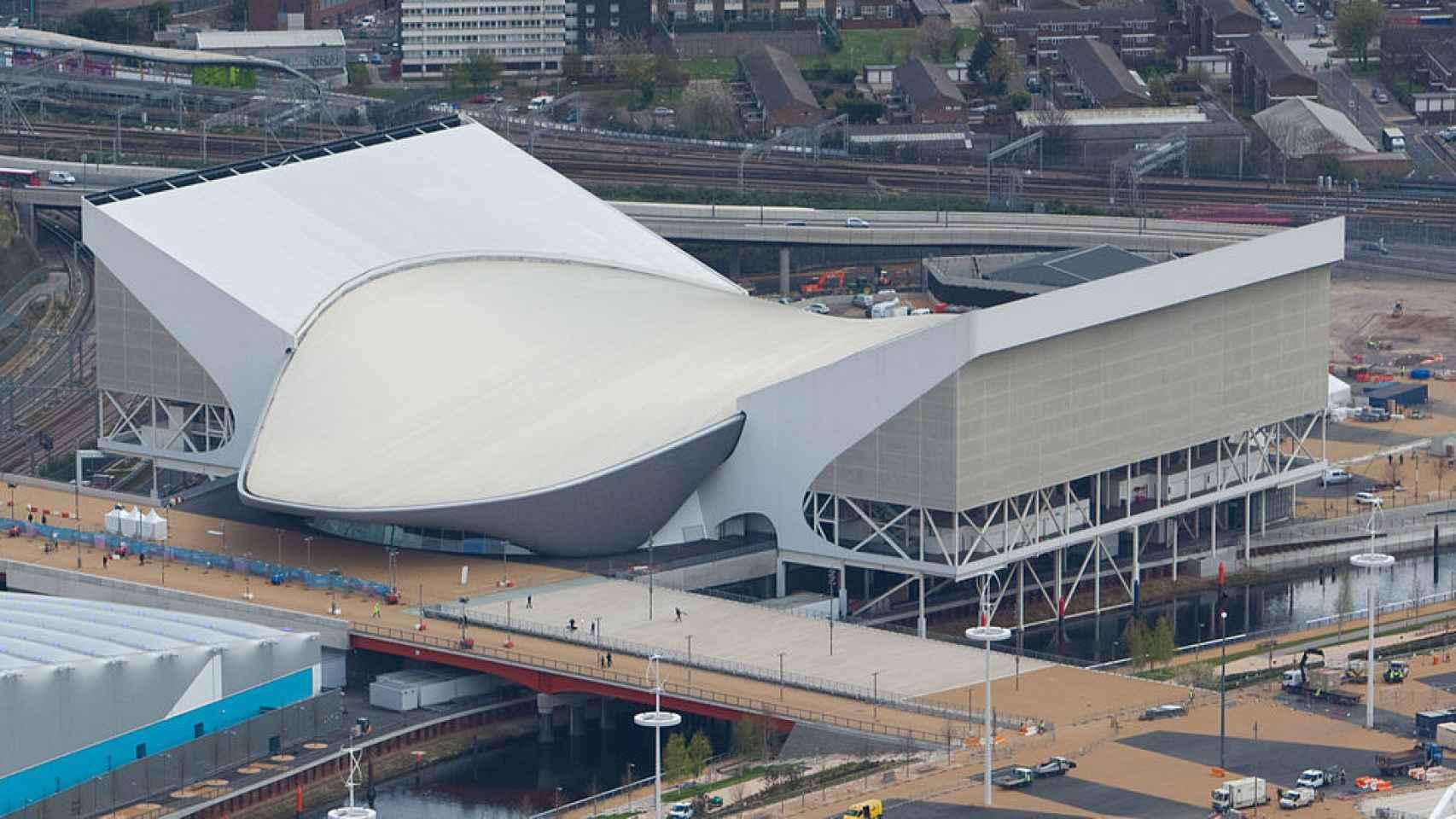 Centro Acuático de los Juegos Olímpicos de Londres 2012.