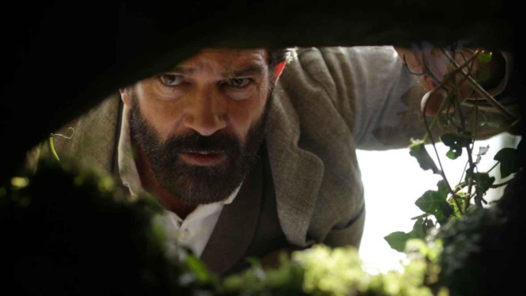 Antonio Banderas en un fotograma de la película.