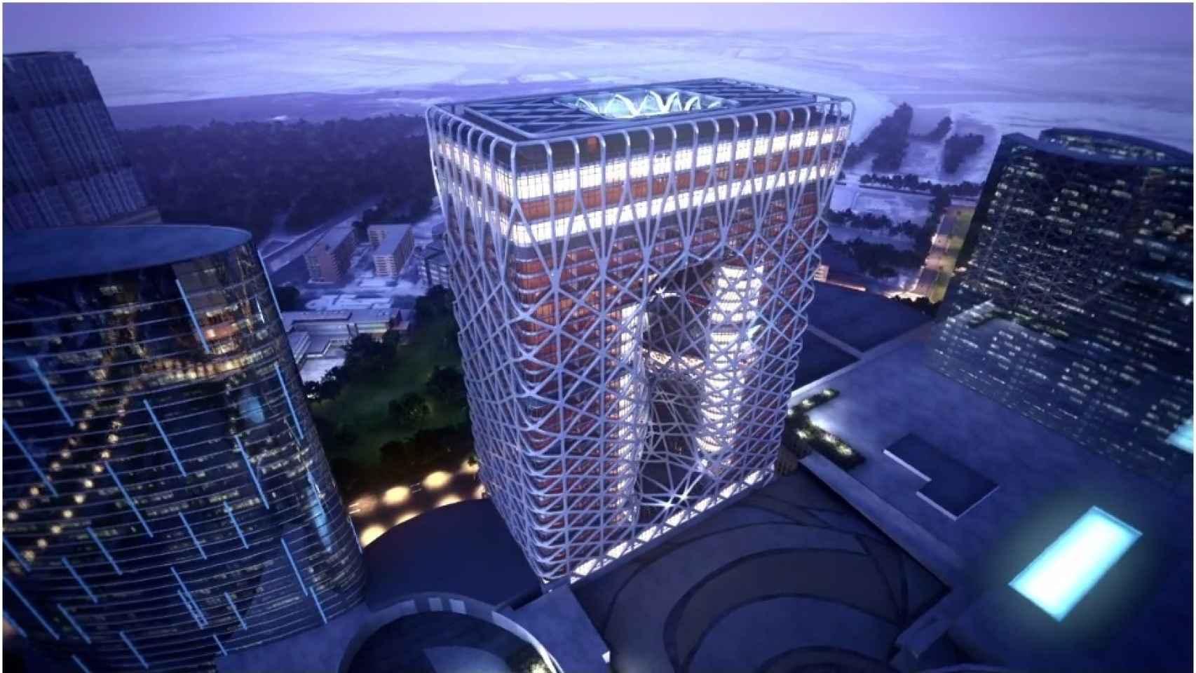 Proyecto de Zaha Hadid de hotel y casino en Macao (China), finalizará en 2017.