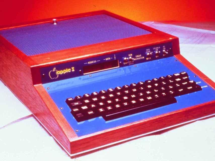 El primer Apple, de 1976.