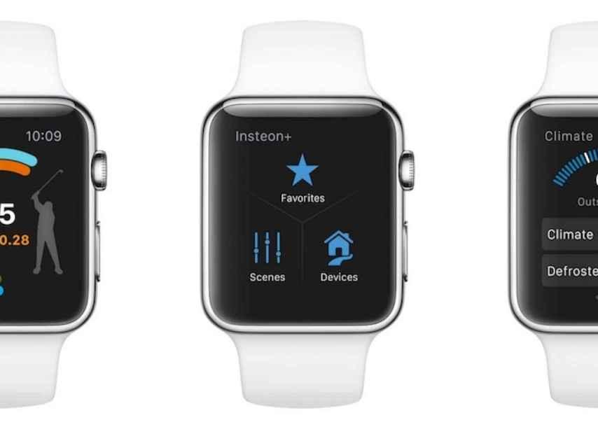 El Apple Watch.