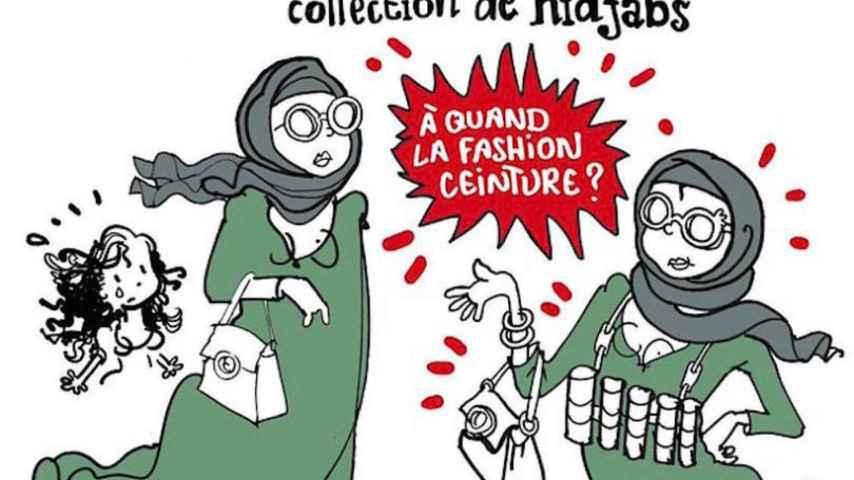 La viñeta del humorista gráfico que acusan de relacionar islamismo con terrorismo.