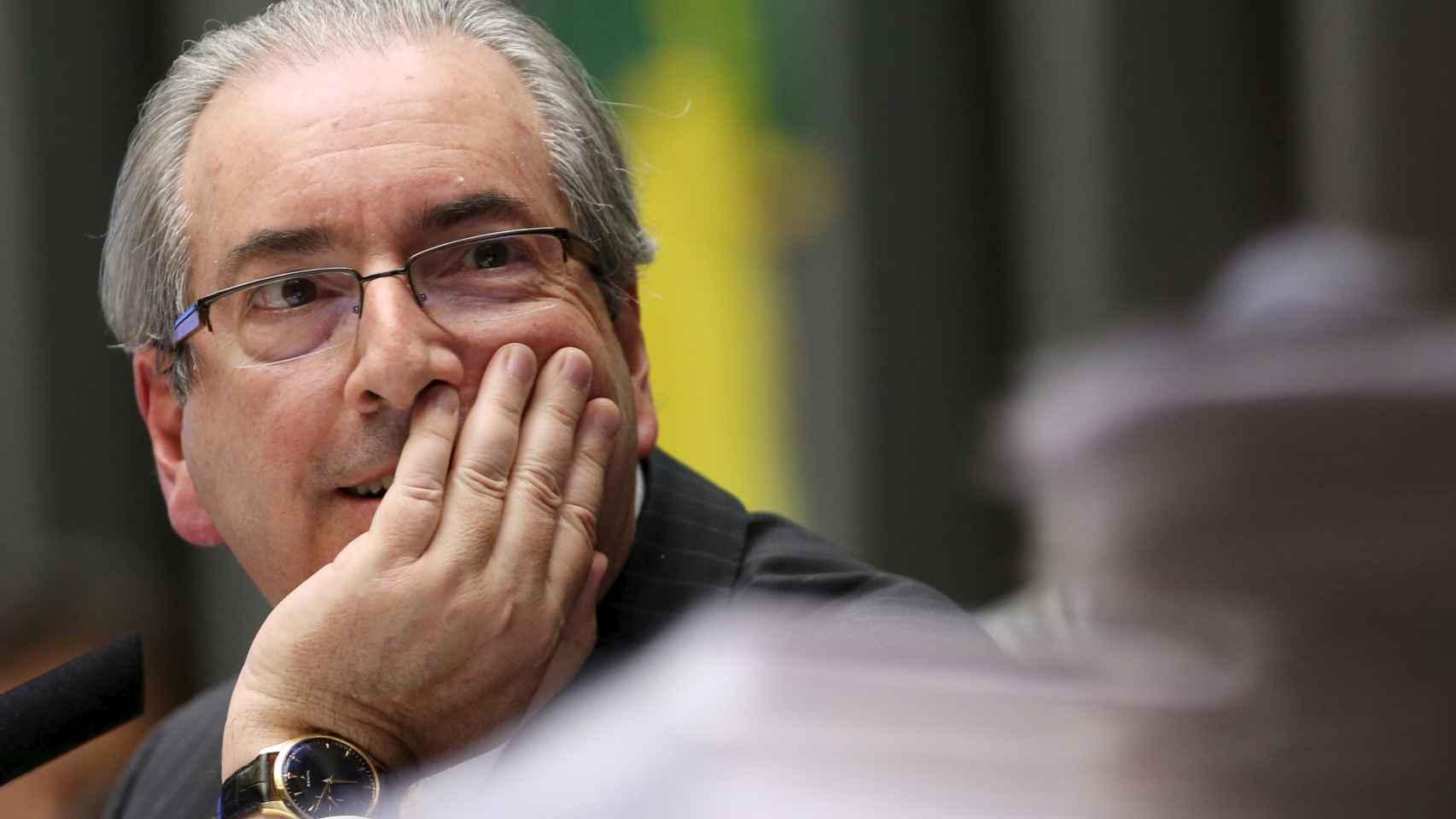 Cunha preside el Congreso brasileño y es enemigo público de la presidenta.