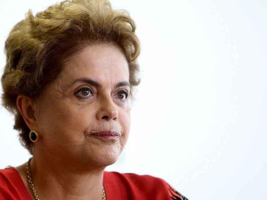 Dilma Roussef lleva meses enfrentándose a la amenaza del 'impeachment'.