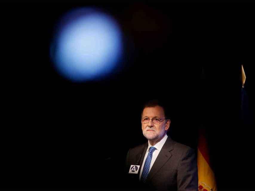Mariano Rajoy en el 80º cumpleaños de Mario Vargas Llosa