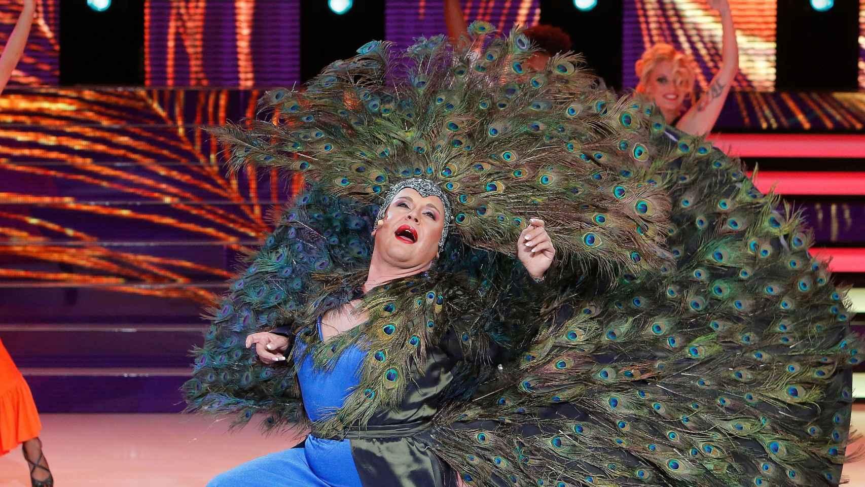 Falete ha sido uno de los mejores concursantes de Tu cara me suena en Antena 3