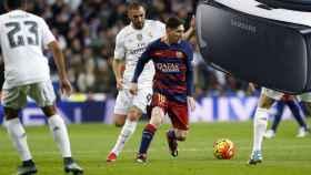 El clásico Barcelona Madrid, en realidad virtual con Movistar y Samsung