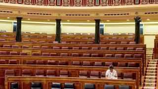 El Congreso, vacío.