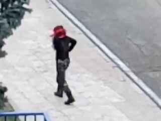 La guardia civil vestida de Rambo, durante las prácticas