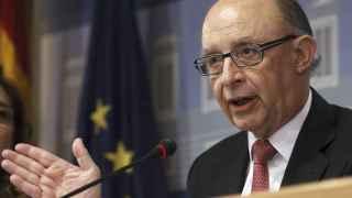 Cristóbal Montoro compareció el jueves para explicar los datos de déficit público.