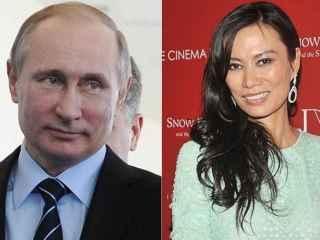 Wendi Deng y Vladimir Putin salen juntos