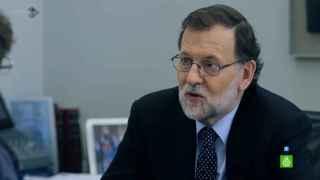 Mariano Rajoy, en un momento de su entrevista en Salvados.