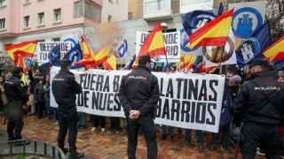 Fascistas contra antifascistas 'batallan' en el corazón de Madrid