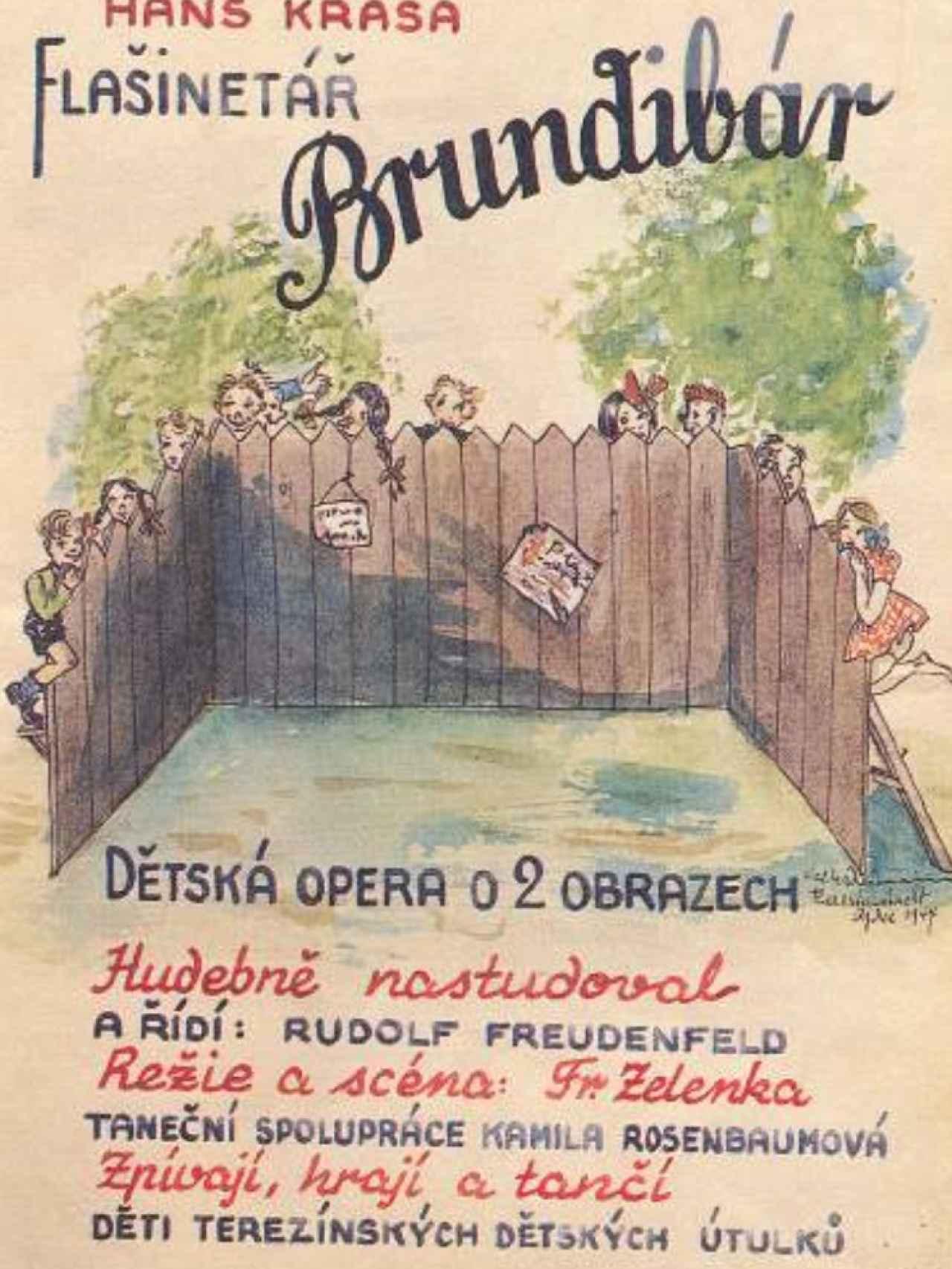 Cartel de la ópera.