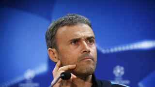 Luis Enrique, en la rueda de prensa previa al partido contra el Atleti.
