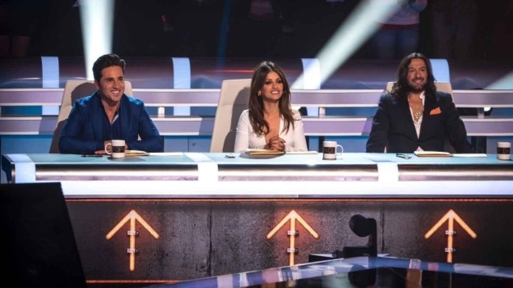 Mónica debutó este lunes como jurado en Top Dance de Antena 3