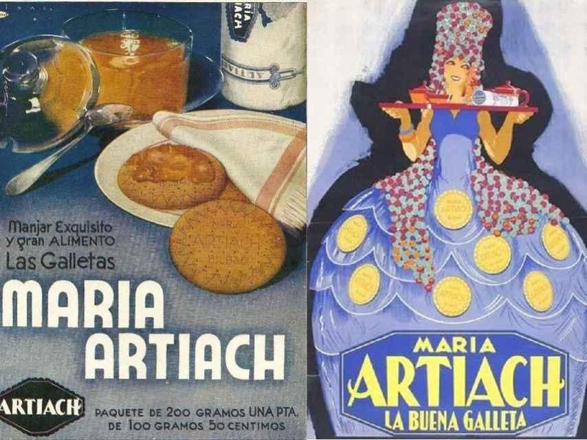 Anuncios de Artiach.