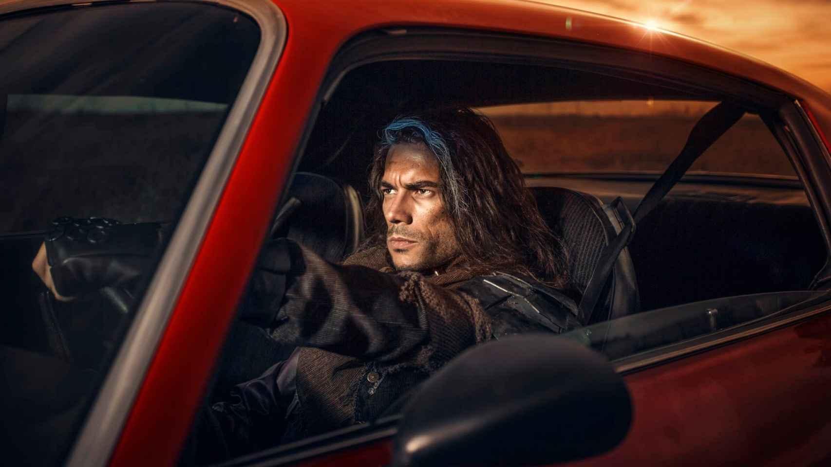 Leo Jiménez en una imagen de su disco 20 Años tras el Apocalipsis