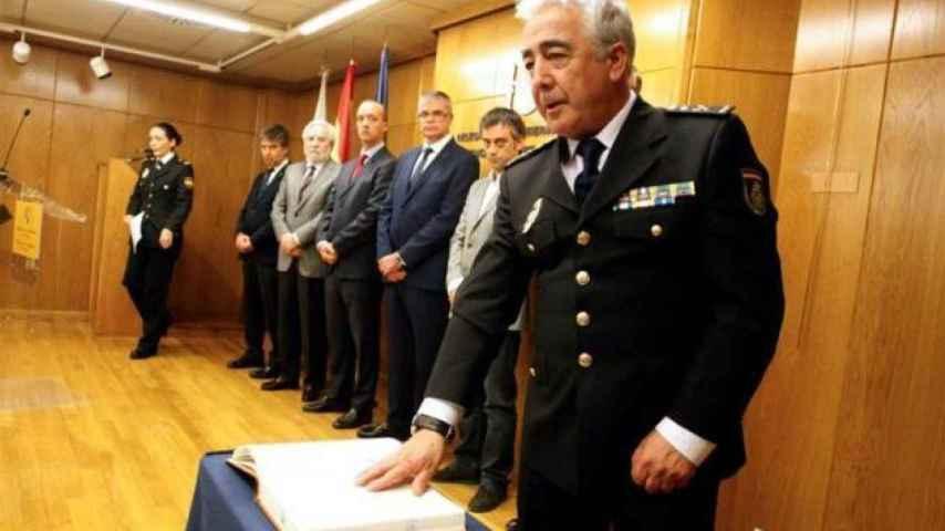 El Comisario Manuel Vázquez toma posesión de su cargo en Galicia.