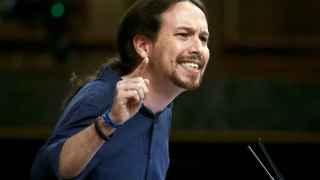 El secretario general de Podemos, Pablo Iglesias, este miércoles.
